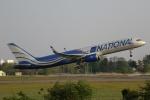 やまけんさんが、仙台空港で撮影したナショナル・エアラインズ 757-223の航空フォト(写真)