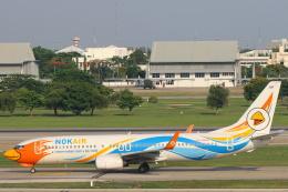 安芸あすかさんが、ドンムアン空港で撮影したノックエア 737-88Lの航空フォト(飛行機 写真・画像)