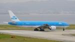 てつさんが、関西国際空港で撮影したKLMオランダ航空 777-206/ERの航空フォト(写真)