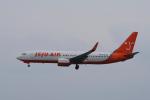 yabyanさんが、那覇空港で撮影したチェジュ航空 737-8HXの航空フォト(飛行機 写真・画像)