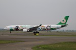 北の熊さんが、新千歳空港で撮影したエバー航空 A330-302Xの航空フォト(飛行機 写真・画像)