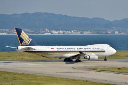 c59さんが、関西国際空港で撮影したシンガポール航空カーゴ 747-412F/SCDの航空フォト(飛行機 写真・画像)