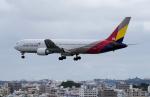 yabyanさんが、那覇空港で撮影したアシアナ航空 767-38Eの航空フォト(飛行機 写真・画像)