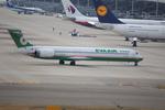 T.Sazenさんが、関西国際空港で撮影したエバー航空 MD-90-30の航空フォト(飛行機 写真・画像)