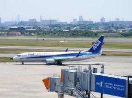 よんすけさんが、伊丹空港で撮影した全日空 737-881の航空フォト(飛行機 写真・画像)