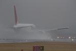 しゅあさんが、伊丹空港で撮影した日本航空 767-346の航空フォト(写真)