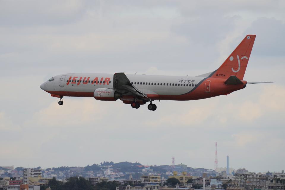 yabyanさんのチェジュ航空 Boeing 737-800 (HL7779) 航空フォト