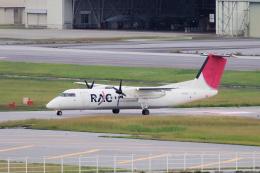 yabyanさんが、那覇空港で撮影した琉球エアーコミューター DHC-8-314 Dash 8の航空フォト(写真)