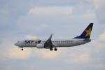 yabyanさんが、那覇空港で撮影したスカイマーク 737-8FZの航空フォト(飛行機 写真・画像)