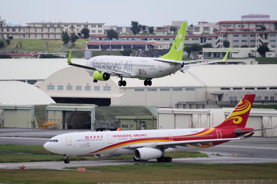 yabyanさんの香港航空 Airbus A330-300 (B-LNU) 航空フォト
