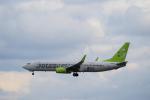 yabyanさんが、那覇空港で撮影したソラシド エア 737-86Nの航空フォト(飛行機 写真・画像)