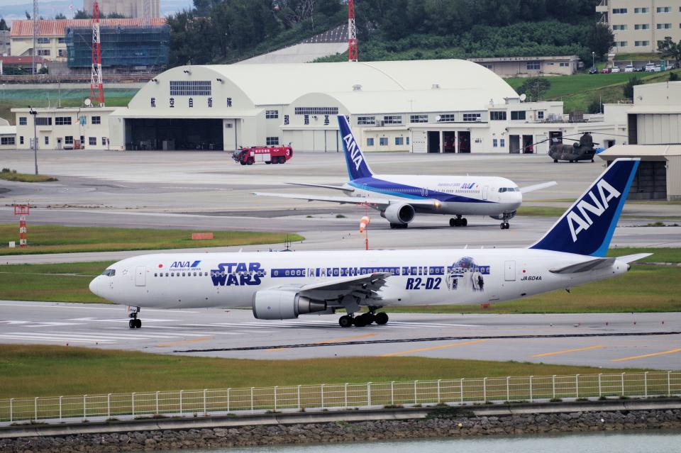 yabyanさんの全日空 Boeing 767-300 (JA604A) 航空フォト