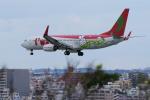 yabyanさんが、那覇空港で撮影したティーウェイ航空 737-8Q8の航空フォト(飛行機 写真・画像)