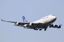 まえちんさんが、成田国際空港で撮影したユナイテッド航空 747-422の航空フォト(飛行機 写真・画像)