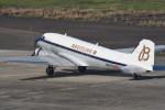 kumagorouさんが、仙台空港で撮影したスーパーコンステレーション飛行協会 DC-3Aの航空フォト(飛行機 写真・画像)
