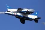 花田花男さんが、岩国空港で撮影した航空自衛隊 T-4の航空フォト(写真)