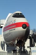 SKYLINEさんが、航空科学博物館で撮影したノースウエスト航空 747-212Bの航空フォト(写真)