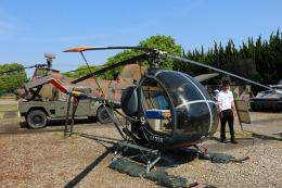 Wasawasa-isaoさんが、霞ヶ浦飛行場で撮影した陸上自衛隊 TH-55J Osageの航空フォト(飛行機 写真・画像)