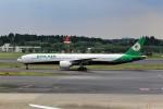 T.Sazenさんが、成田国際空港で撮影したエバー航空 777-35E/ERの航空フォト(飛行機 写真・画像)