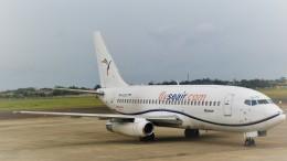 westtowerさんが、マクタン・セブ国際空港で撮影したサウス・イースト・アジアン・エアラインズ 737-2T4C/Advの航空フォト(飛行機 写真・画像)
