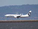 職業旅人さんが、サンフランシスコ国際空港で撮影したアラスカ航空 737-990の航空フォト(写真)