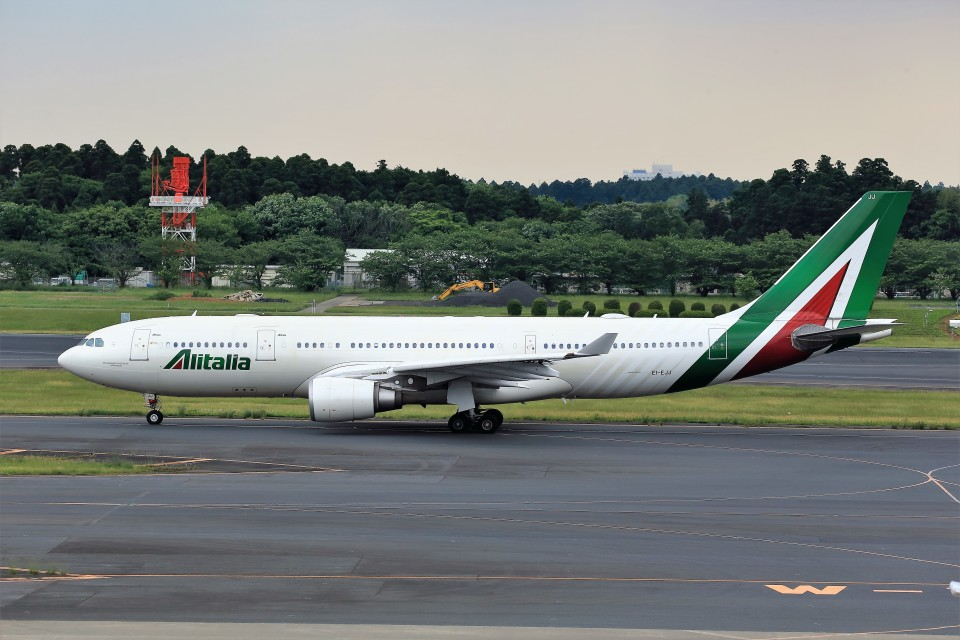 T.Sazenさんのアリタリア航空 Airbus A330-200 (EI-EJJ) 航空フォト