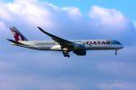 まいけるさんが、ロンドン・ヒースロー空港で撮影したカタール航空 A350-941XWBの航空フォト(写真)
