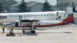 coolinsjpさんが、青島流亭国際空港で撮影した山西成功通用航空 Y-12-IIの航空フォト(飛行機 写真・画像)