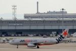 ハピネスさんが、関西国際空港で撮影したジェットスター・アジア A320-232の航空フォト(飛行機 写真・画像)