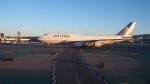 maccha_chaさんが、サンフランシスコ国際空港で撮影したユナイテッド航空 747-422の航空フォト(写真)