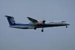 北の熊さんが、新千歳空港で撮影したANAウイングス DHC-8-402Q Dash 8の航空フォト(写真)