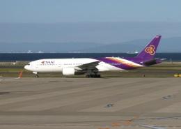 ころちゃんさんが、中部国際空港で撮影したタイ国際航空 777-2D7の航空フォト(飛行機 写真・画像)