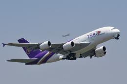 saoya_saodakeさんが、成田国際空港で撮影したタイ国際航空 A380-841の航空フォト(飛行機 写真・画像)