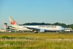 サボリーマンさんが、松山空港で撮影した日本航空 767-346/ERの航空フォト(飛行機 写真・画像)