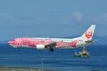 LEGACY-747さんが、那覇空港で撮影した日本トランスオーシャン航空 737-446の航空フォト(写真)