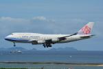 LEGACY-747さんが、那覇空港で撮影したチャイナエアライン 747-409の航空フォト(飛行機 写真・画像)