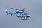 蒼い鳩さんが、富山空港で撮影した石川県警察 BK117C-1の航空フォト(写真)
