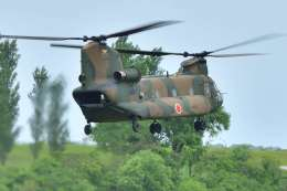 canaanさんが、新潟空港で撮影した陸上自衛隊 CH-47JAの航空フォト(飛行機 写真・画像)