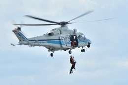 canaanさんが、新潟空港で撮影した海上保安庁 AW139の航空フォト(飛行機 写真・画像)