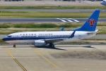 あしゅーさんが、羽田空港で撮影した中国南方航空 737-71Bの航空フォト(飛行機 写真・画像)