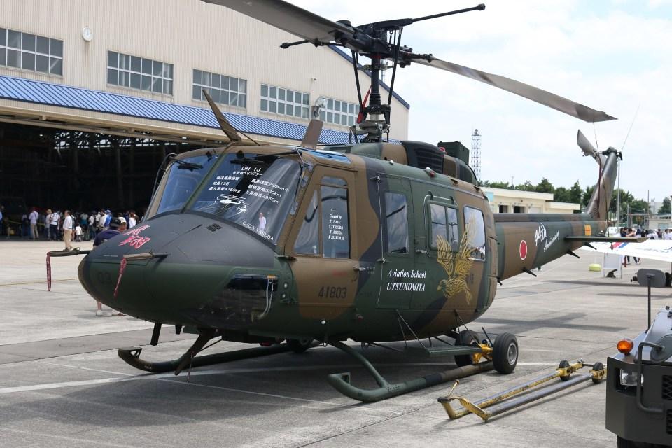 4engineさんの陸上自衛隊 Fuji UH-1J (41803) 航空フォト