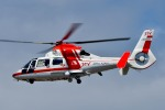 Dojalanaさんが、函館空港で撮影した朝日航洋 AS365N3 Dauphin 2の航空フォト(飛行機 写真・画像)