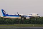 多楽さんが、成田国際空港で撮影した全日空 A320-271Nの航空フォト(写真)