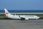 おみずさんが、北九州空港で撮影した日本航空 737-846の航空フォト(写真)