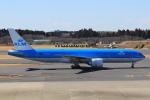 StarMarineさんが、成田国際空港で撮影したKLMオランダ航空 777-206/ERの航空フォト(写真)