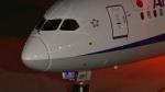 ウッディさんが、羽田空港で撮影した全日空 787-9の航空フォト(写真)