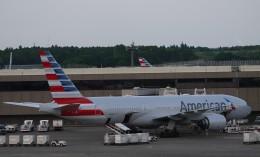 furaibo123さんが、成田国際空港で撮影したアメリカン航空 777-223/ERの航空フォト(飛行機 写真・画像)