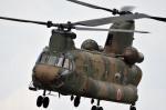 skyclearさんが、宇都宮飛行場で撮影した陸上自衛隊 CH-47Jの航空フォト(写真)
