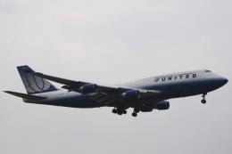 小牛田薫さんが、成田国際空港で撮影したユナイテッド航空 747-422の航空フォト(飛行機 写真・画像)