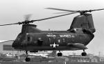 チャーリーマイクさんが、岩国空港で撮影したアメリカ海兵隊 HH-46Dの航空フォト(写真)